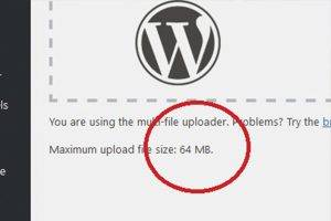 Increase Upload File Size Limit in WP
